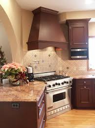 mediterranean kitchen in emmaus pennsylvania morris black viking range and range hood emmaus pa