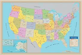 map of the united state map of united states amazon com