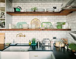 Open Shelf Kitchen by Open Shelves In Kitchen Designing Gallery A1houston Com