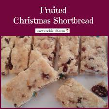 fruitcake shortbread easy fruited christmas shortbread cookie recipe
