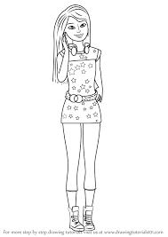 learn draw skipper barbie dreamhouse