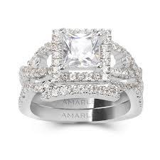 diamond bridal sets bridal sets engagement wedding ring sets amarley