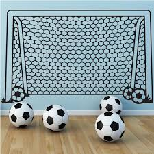 Sports Decals For Kids Rooms by Aliexpress Com Buy Soccer Football And Famous Soccer Players