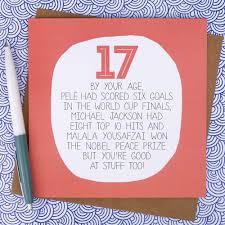Funny Birthday Invitation Cards 17th Birthday Card Funny Birthday Card Funny 17th Birthday