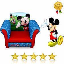 Cartoon Armchair Children U0027s Mickey Mouse Sofas And Armchairs Ebay