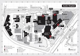 Ut Austin Campus Map by Austin Hospital Map Map Of Austin Hospital Texas Usa