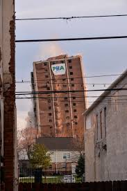 Metropolitan Shed Photos Video Residents Shed Tears As North Philly Project Imploded