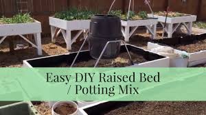quick tip easy diy raised bed soil mix mel u0027s mix from square