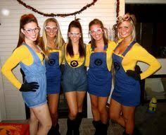 Minions Halloween Costumes Adults Easy Cheap Homemade Group Costumes Despicable