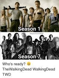 Walking Dead Meme Season 1 - 25 best memes about twd twd memes