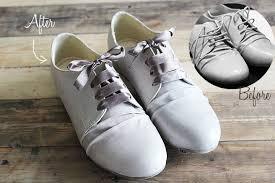 ribbon shoelaces shoelace upcycle project