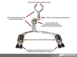 exhaust system awe s7 40t exhaust awe tuning exhaust system audi s7 4 0t