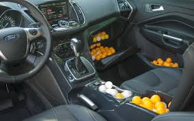 Interior Spaces Jackson Ms by 2013 Ford Escape Interior Spaces Measured With Pingpong Balls
