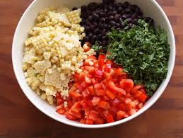 corn black bean avocado salsa italian dressing