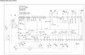 zanussi washing machine wiring diagram service manual error code