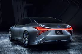 lexus new sports car lexus ls concept illustrates autonomous tech due in 2020 flagship