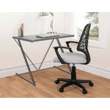 Modern Metal Desks by Urban Shop Z Shaped Student Desk Multiple Colors Walmart Com