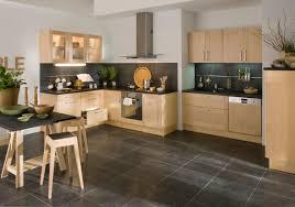 cuisine plan travail bois awesome cuisine noir plan de travail bois blanc images design