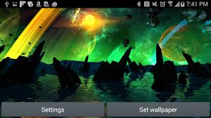 far galaxy 3d live wallpaper android apps on google play