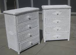 Chest Of Drawers With Wicker Drawers White Wicker Chest Of Drawers Delmaegypt