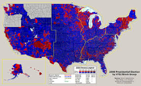 2012 Presidential Election Map by 2008 Nationwide Precinct Map Project Mostly Complete