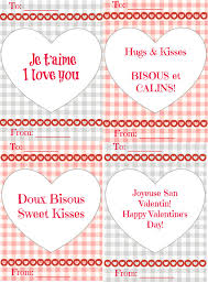free french valentine u0027s day card printables new york in french