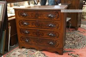 Bedroom Dresser Pulls Bedroom Extraordinary Image Of Vintage 5 Drawer Cherry Wood