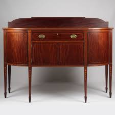 Mahogany Sideboards And Buffets Potthast Brothers American Federal Inlaid Mahogany Sideboard
