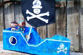 how to make a diy pirate ship red ted art u0027s blog