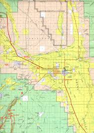 Mammoth Map Map Of Bishop Forest California Paiute Indian Reservation Territory