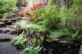 rock garden look portland eclectic landscape decorators with