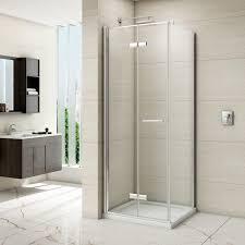 Merlin Shower Doors 8 Series Frameless Hinged Bifold Shower Door