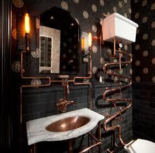 undermount bathroom sinks bathroom eclectic with subway tile