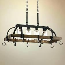 kitchen island hanging pot racks kitchen pot rack with lights best pot rack hanging ideas on within