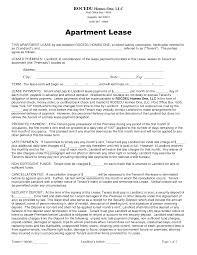form apartment rental and lease form