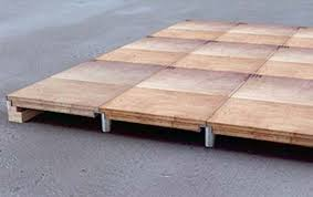 expo floor systems raised floors demcnabb exhibit flooring