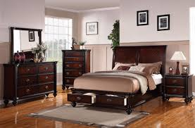 Queen Sized Bedroom Set Rustic Bedroom Set Features Queen Size Platform Bed With Drawers