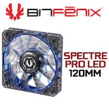 high cfm case fan bitfenix spectre pro 120mm blue led case fan