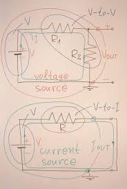 voltage divider current electrical diagram