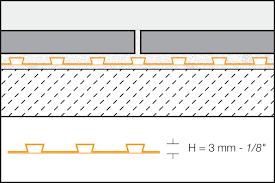 schluter ditra u0026 ditra xl uncoupling ditra membranes