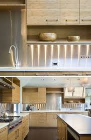 Photos Of Backsplashes In Kitchens Kitchen Design Idea Install A Stainless Steel Backsplash For A