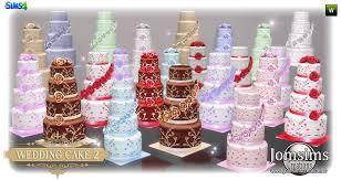 wedding cake the sims 4 various sims 4