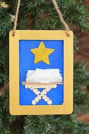 nativity craft hanging for ad dayspring shepherdonthesearch