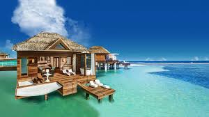 House Over Water Sandals South Coast Opens Booking On Overwater Bungalows Travel