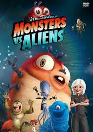 monsters aliens movie posters movie poster shop