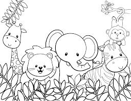 safari animals coloring pages getcoloringpages com