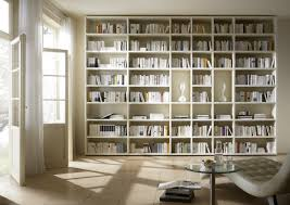 White Library Bookcase by Living Room Library Bookcase Brucall Com
