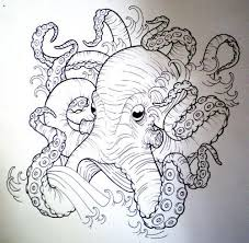 neo traditional kraken tattoo ship google search tattoos
