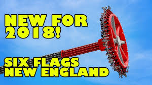 Sox Flags New England Harley Quinn Spinsanity 2018 New Ride Six Flags New England Youtube