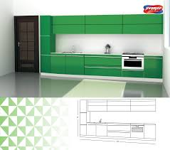 single line kitchen design with an inbuilt oven jacpl